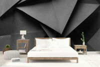 3D Abstract Geometric Shape Self-adhesive Living Room Wallpaper Wall Mural Decor