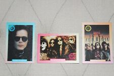 Sisters Of Mercy / Andrew Eldritch - 3 collector cards - 1991 Rock Cards