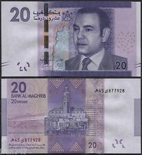 MARRUECOS MOROCCO 20 dirhams 2012 2013 Pick 74 SC / UNC