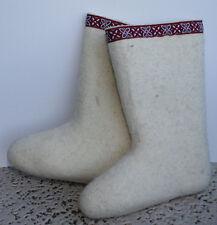 VALENKI Wool Felt Russian Winter Boots Shoes US Women Sizes