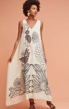 NWT $248 Sheena Maxi Dress by Geisha Designs Small Anthropologie Gown BHLDN Boho