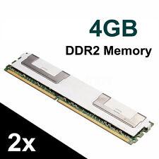 Mémoire RAM 8 GO (2X4GB) DDR2 PC2-5300F 667MHz DIMM CL5 ECC SERVEUR PC 240 Pin