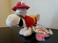 """The Adventures of Rocky & Bullwinkle & Friends Horse Plush 7""""  Stuffins 1999"""