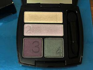 AVON True Colour Quad Eyeshadow 'Purple Haze' Purples & Green & Mirror BNIB