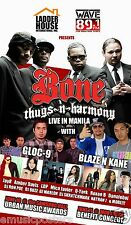 "BONE THUGS-N-HARMONY ""LIVE IN MANILA"" 2014 PHILIPPINES CONCERT TOUR POSTER - Rap"