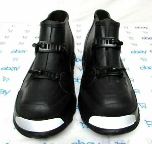 Red Wing men's sz 6 black rubber shoe covers protectors over shoe boots