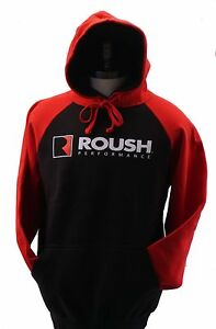 ROUSH PERFORMANCE RED AND BLACK HOODED SWEATSHIRT SOLD EXCLUSIVELY HERE