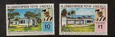 ST. Kitts-Nevis SG300/1 1974 Università Gomma integra, non linguellato