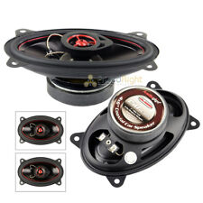 Set 2 Audiopipe 150W 4x6 Coaxial Speakers Pair CSL-4602R Rubber Edge