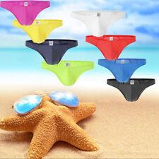 Breathable Mens Mini G-string T-back Thongs Bikini Lingerie Underwear M L XL 2XL