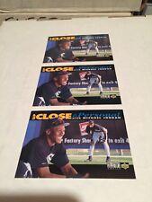 1993 Upper Deck MIchael Jordan RC (3) Card Lot Up Close & Personal M/NM Look👀