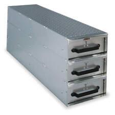 Truck/Van Door Storage Tray,3 drawers 1408980
