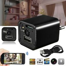 HD 1080P Spy Hidden Camera Mini USB Wall Charger Adapter Video Recoder EU Plug