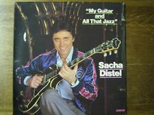 SACHA DISTEL 33 TOURS FRANCE MY GUITAR AND ALL THAT JAZ