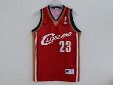 NBA CLEVELAND CAVALIERS BASKETBALL SHIRT JERSEY CHAMPION LEBRON JAMES #23