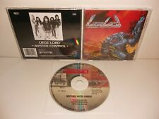LIEGE LORD - Master Control CD [Roadrunner] 1st Press, Helstar Attacker Heretic