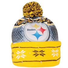 Pittsburgh Steelers Forever Collectibles NFL UGLY Light Up Beanie FREE SHIP