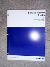 1997 Volvo Truck Service Manual Cab Body Repair VNL VNM  MORE MANUALS IN STORE T
