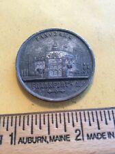Exonumia: 1870 Frankfort Panorama Medal (350-20a)