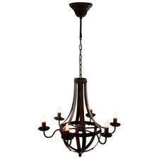 "Metal Chandelier w/ 6 Lights 25""x22""x24""-FD38576"