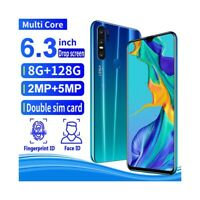 "SMARTPHONE P30 GREEN BLUE 128GB 6,3"" ANDROID DUAL SIM 4800MAH FINGERPRINT-"