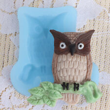 Owl Silicone Cake Mold Fondant Tools Chocolate Candy Resin Polymer Clay Molds