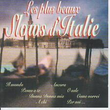 LES PLUS BEAUX SLOWS D'ITALIE - CD rares