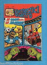 SUPER EROI - I FANTASTICI QUATTRO - CORNO -N.240- 25 GIUGNO 1980 - NON DI RESA