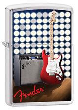 Original ZIPPO Benzin-Sturmfeuerzeug - Fender - Rock n´ Roll .......Z1570