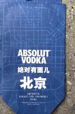 absolut vodka China beijng paper bag