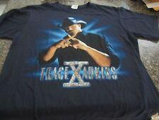 Trace Adkins Concert T-Shirt - Black - Medium - X Tour 2009