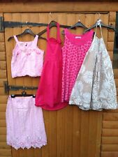 Girls Bundle Clothes Monsoon Top Skirt Outfit Vertbaudet Halterneck Dresses 8-10