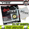 """Anti Vibe Car Door Panels Sound Deadening Material 10"""" x 10"""" inch 2 Piece Sheets"""