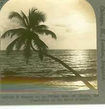 Wsa6274 Pearl-drop on the Brow of India, Sunset on an Orient Sea off Ceylon D