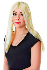 """ADULT 18"""" LONG UNISEX #WIGS IN ALL COLOURS FANCY DRESS PARTY COSTUME ACCESSORY"""