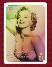 MARILYN MONROE Star Playing Card Ten of Diamonds Bernard Hollywood Issue 2011