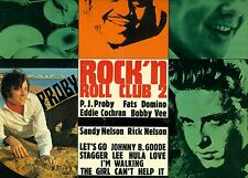 "ROCK 'N ROLL CLUB 2 P.J KARO FATS DOMINO EDDIE COCHRAN BOBBY VEE 12"" LP (L8414)"