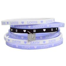 One Direction 'Ex Tour' Gummy Wrist Bands [ Unisex Accessories ] Brand New Gift