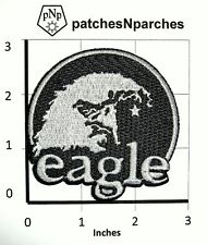 AMERICAN EAGLE ROCK CALIFORNIA BALD EAGLE HEAD AGUILA USA PATCH NEW