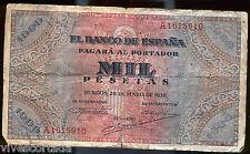 1000 Pesetas 20 of Mayo of 1938 Emission National of Burgos @ Beautiful @