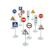 Norev 318990 Street Signs Traffic Signs Plastic New! °