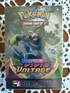 Pokemon Vivid Voltage BUILD & BATTLE Box, New and Sealed, in Hand!