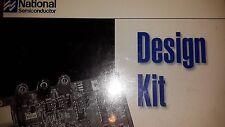 1x NSC LM12438EVAL , 12-Bit Serial I/O DAS Data Acquisition System KIT