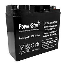PowerStar 12V 22AH Sealed Lead Acid Battery for Jump N Carry JNC660 2 YR WRNTY