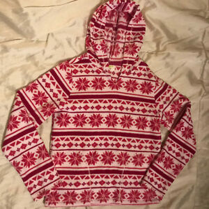 Crazy 8 Red Snowflake Hoodie - Girls Size 14 - Gorgeous!