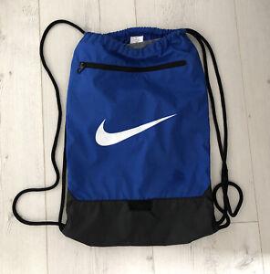 Nike Original Sports Gymsack Training Gym Bag Sack Drawstring  PE Team Kit Tote