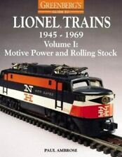 Geenberg's - Lionel Train Soft Cover Book - 1945-1969 Motive Power & Rolling Sto