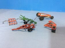 Farm Tractor Implements. Various Collection. Hubley? TruScale? Ertl? Plows Ect