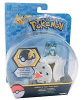 Tomy Pokemon Throw N POP Poke Ball Froakie Grenousse + Ultra Ball Figure Set