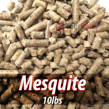 10lbs Of 100% Pure Mesquite Wood Cooking BBQ Pellets Smoker Grill